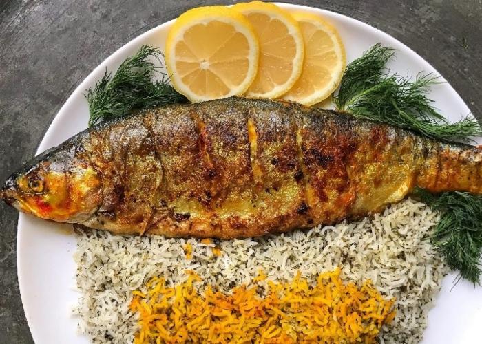 غذاهای خوشمزه با ماهی